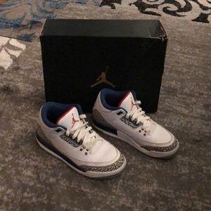 Air Jordan Retro 3 True Blue